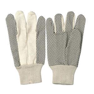 drill cotton gloves