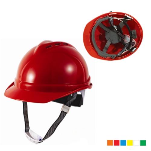 Permeable V type safety helmet AB