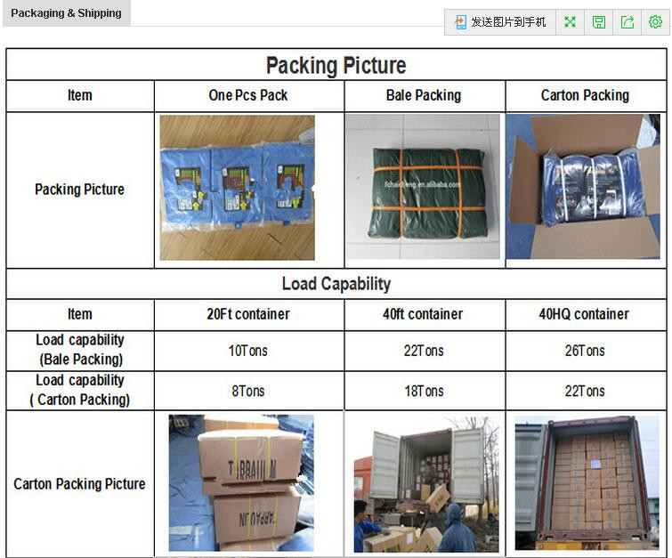 Pe Tarpaulin Manufacture From China With 9 Years Exporting