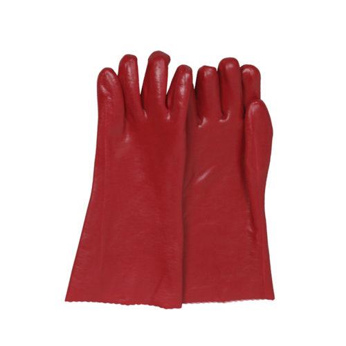 35CM/40CM/45CM Red PVC gloves