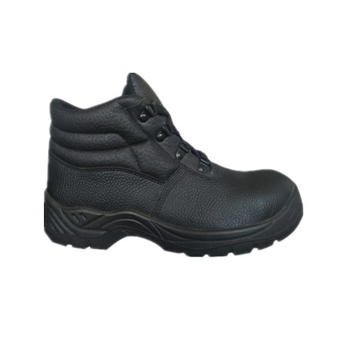 new PU injection safety shoes buffalo leather work shoes