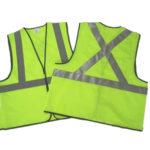 High visibility warning vest reflective safety vest