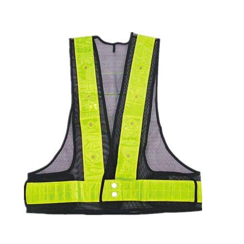 LED police warning vest