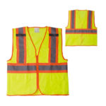 New safety warning vest