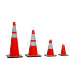 Cheap red PVC traffic cone