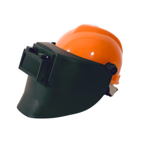 welding mask match with helmet