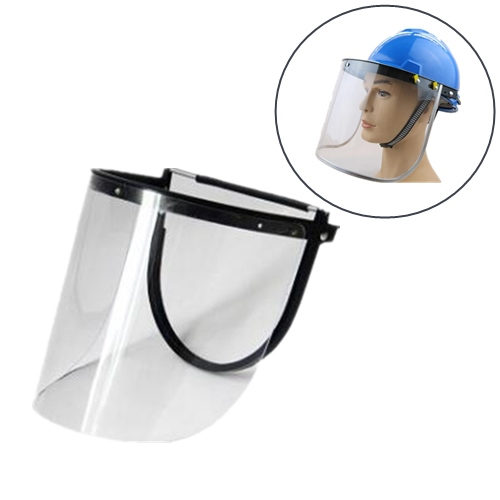 Clear Face Shield with Aluminium Edge