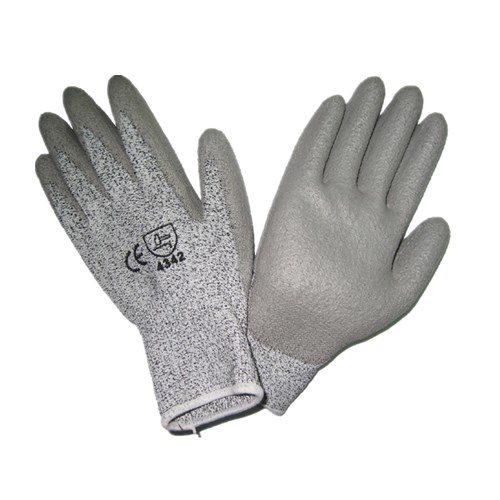 Anti-cut PU safety gloves