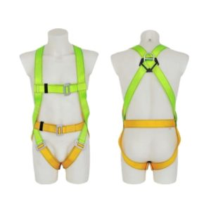 Worker safety fall arrest full body safety harness